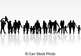 big family - Big Family Clipart