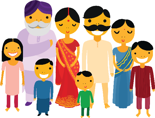 Big Family | Clipart