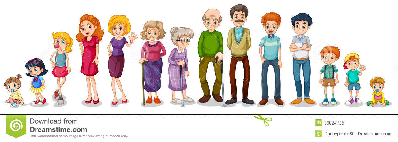 Big Family Free Clipart #1