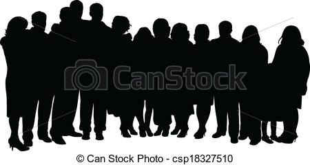 ... big family portrait - Big Family Clipart