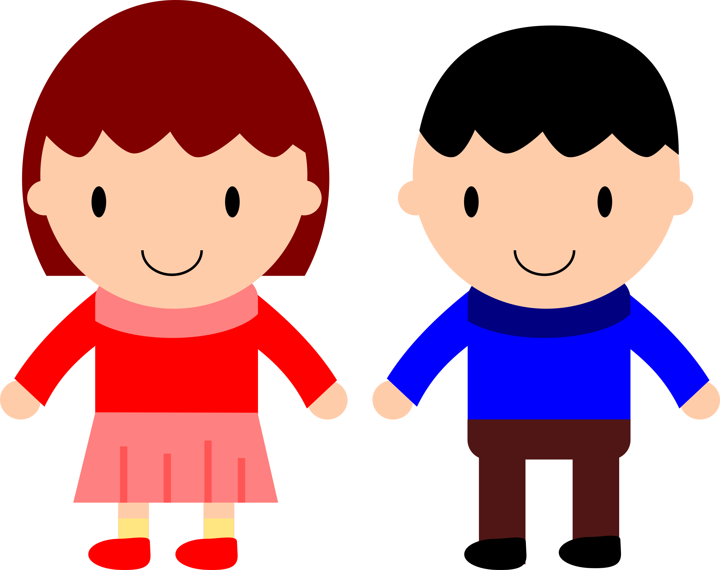 Boy And Girl Clip Art