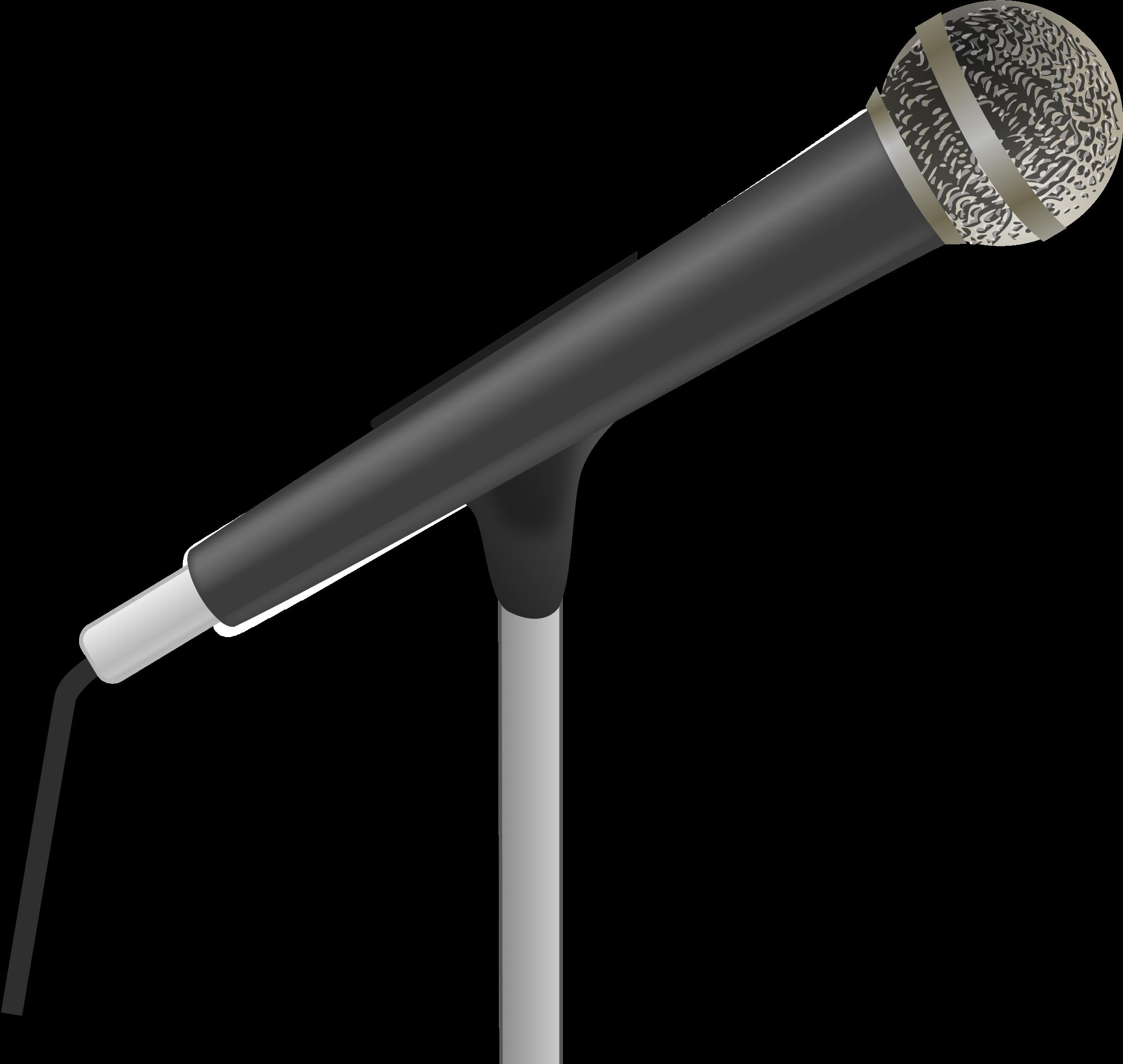 Clip Art Microphone