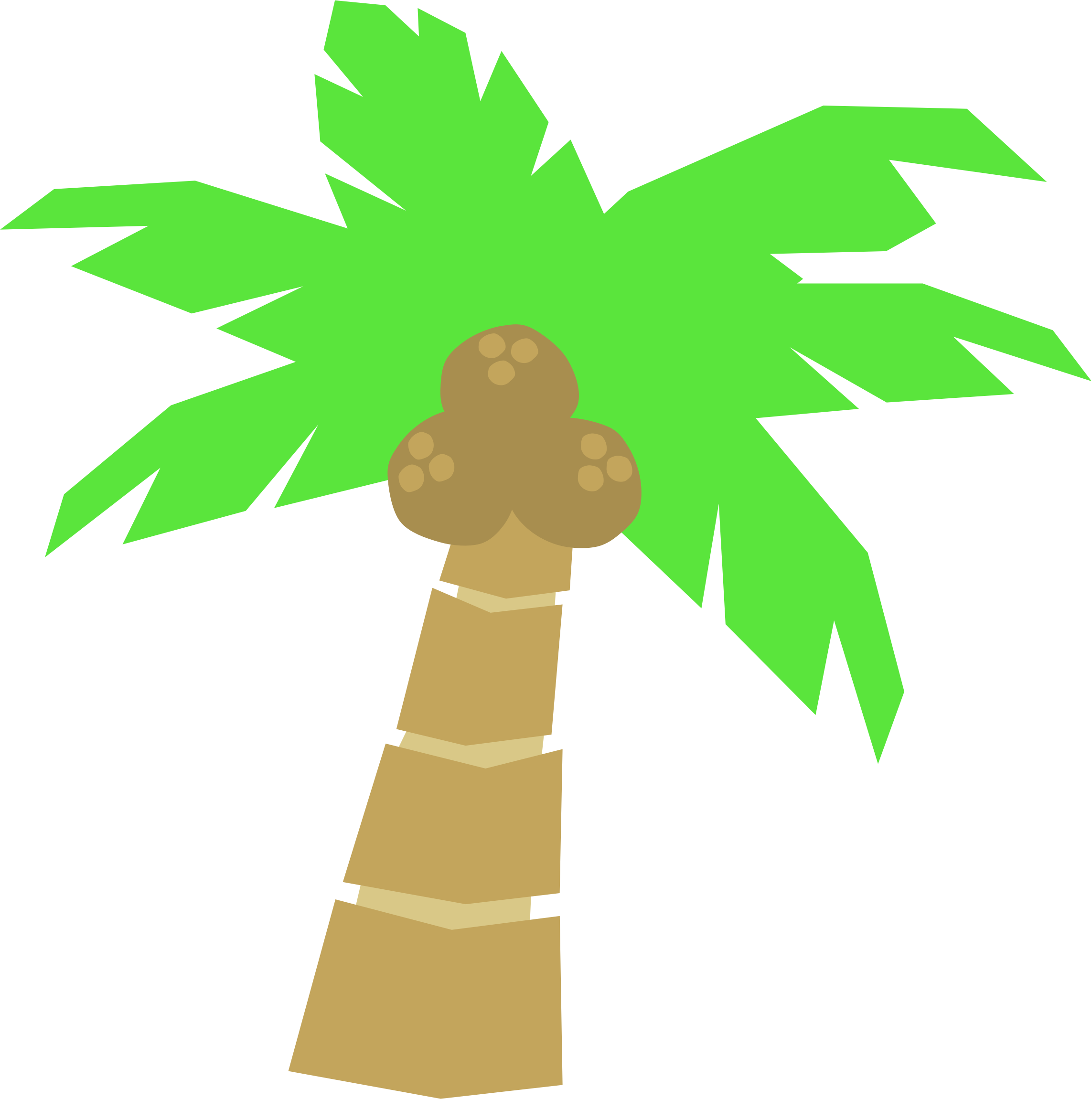 Clipart Palm Tree