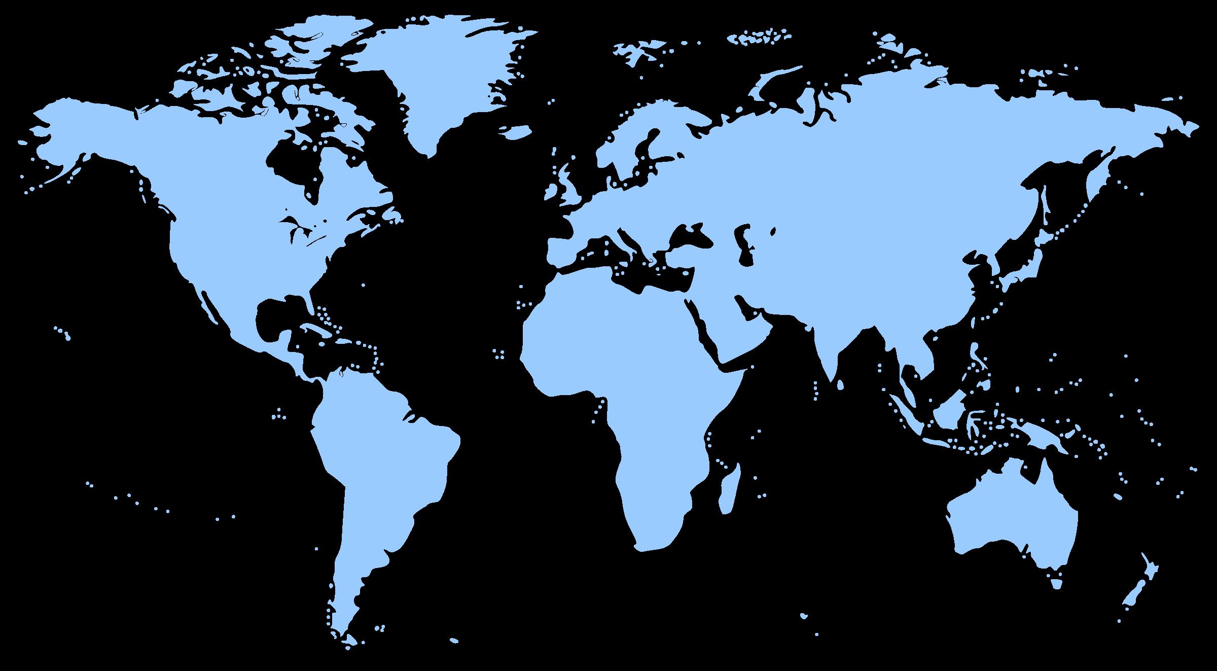 Clipart World Map