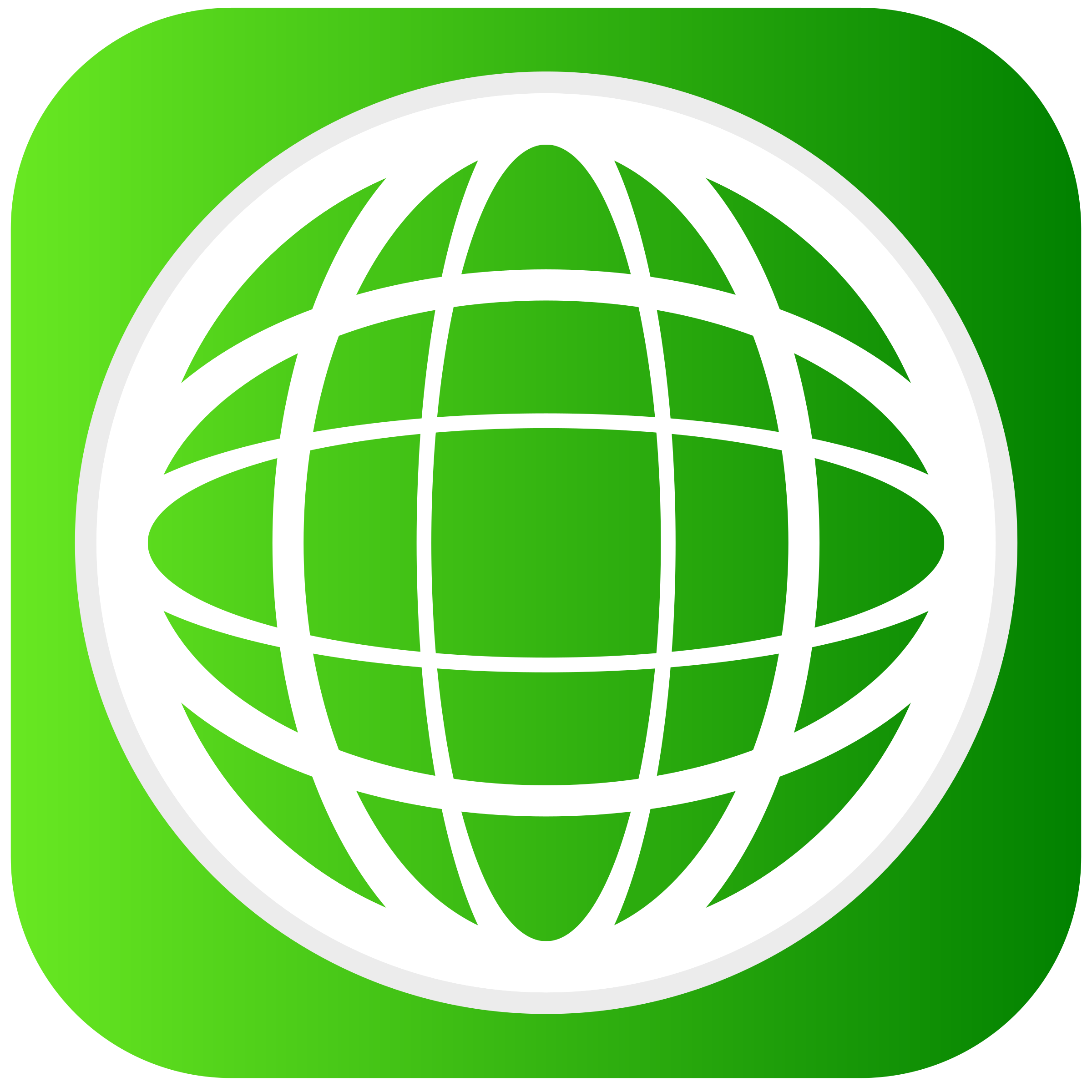 Green Globe Clip Art