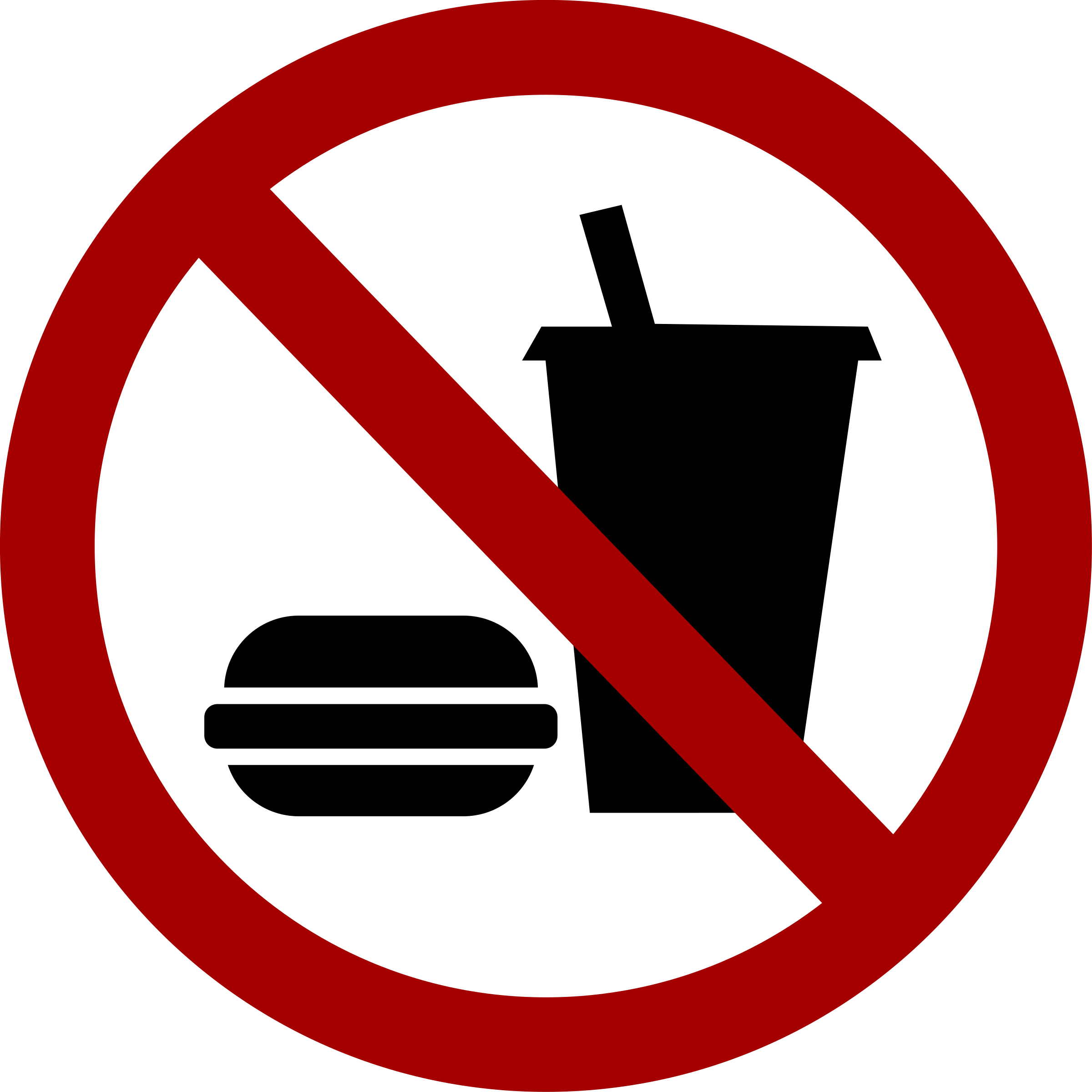 BIG IMAGE (PNG) - No Food Clipart
