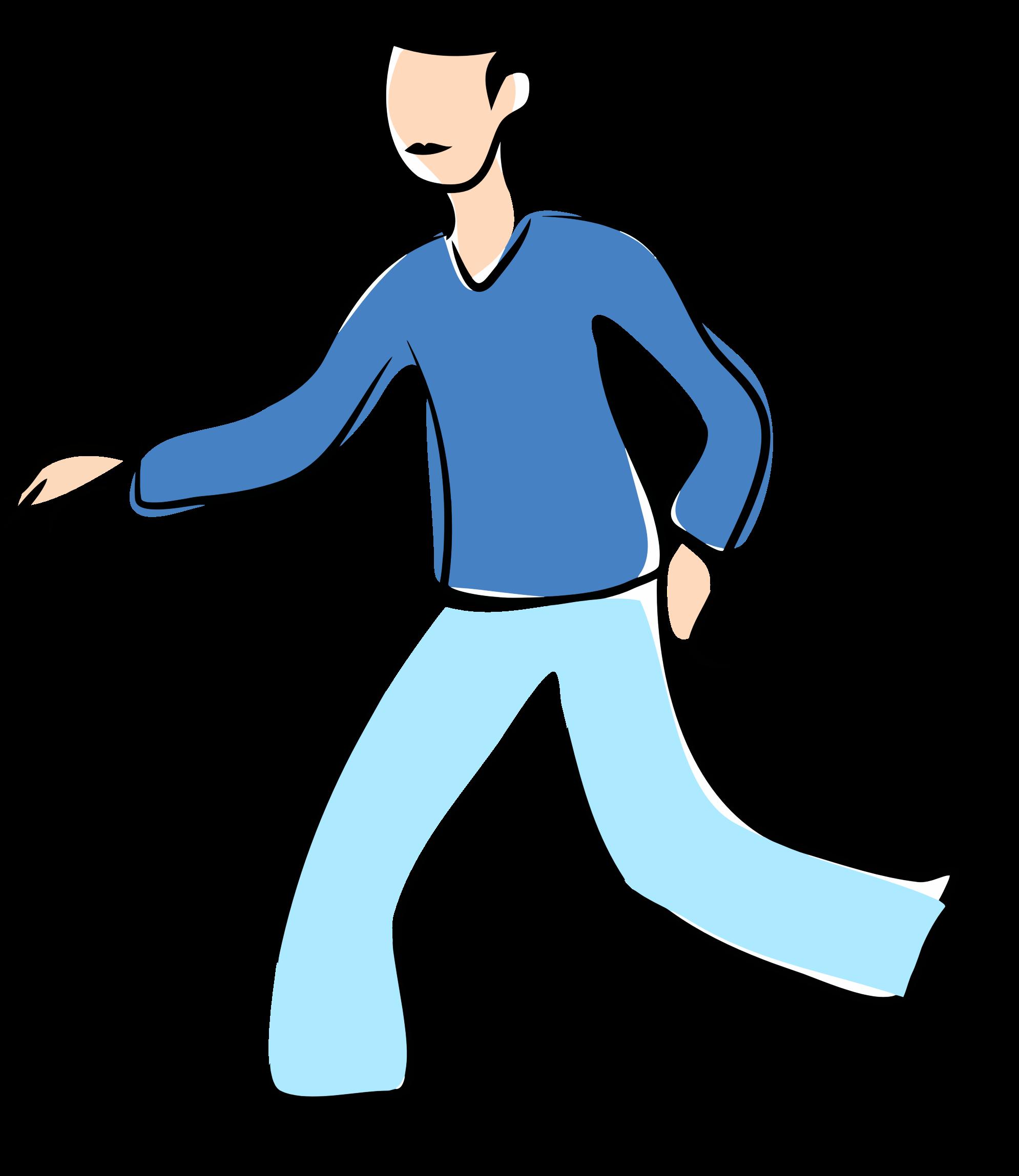 People Walking Clipart