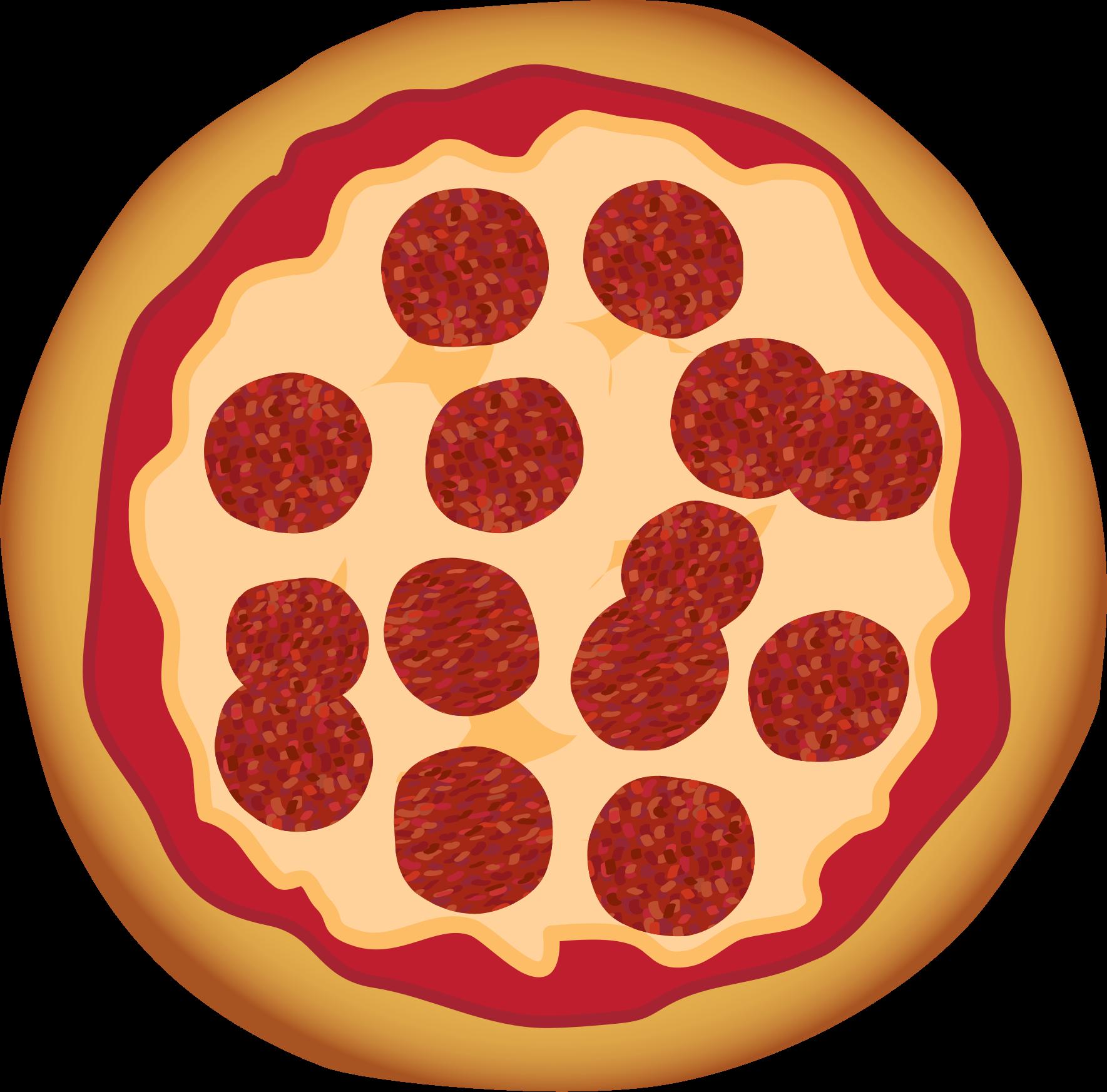 BIG IMAGE (PNG) - Pizza Clip Art