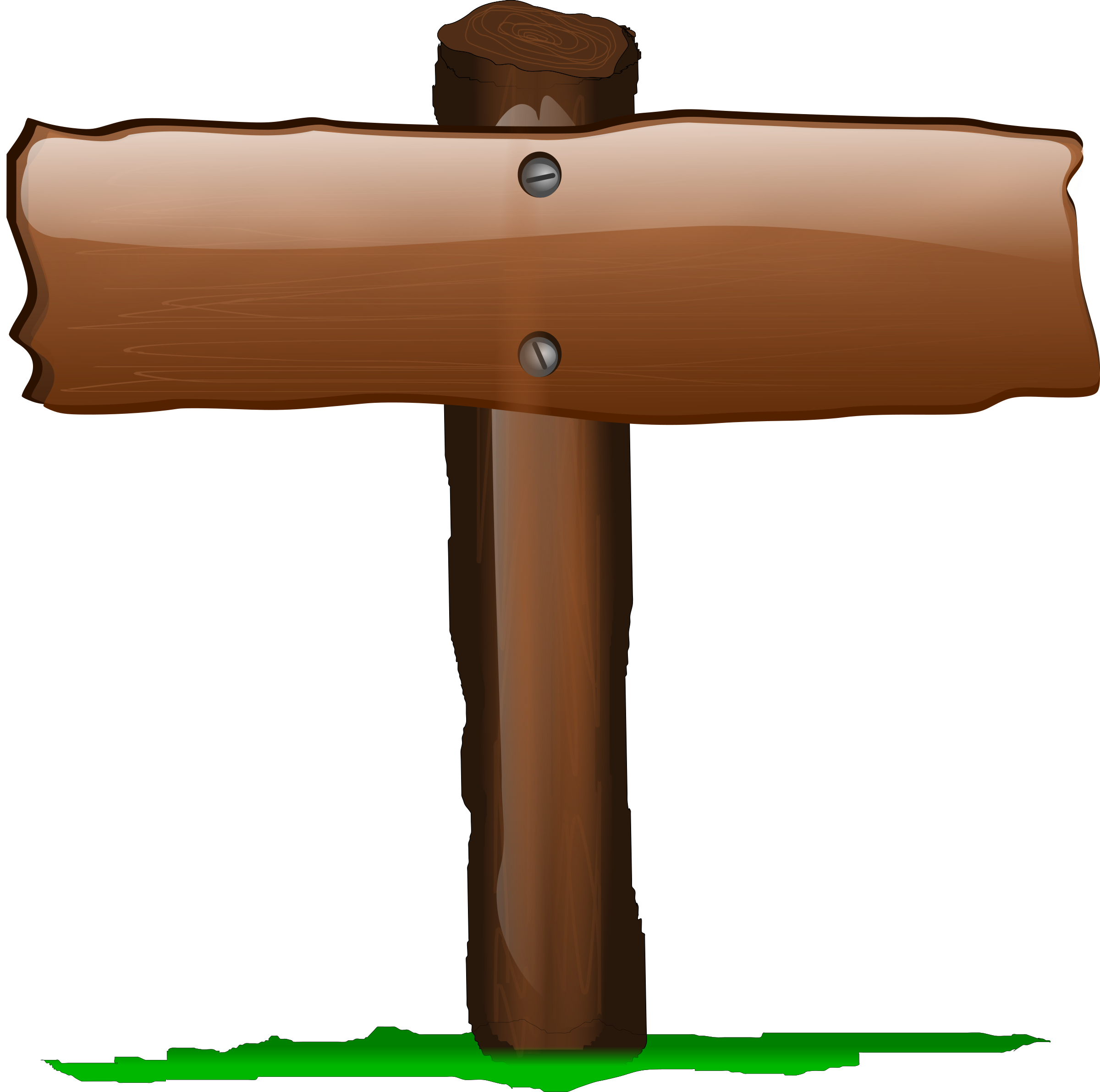 Wood Sign Clipart