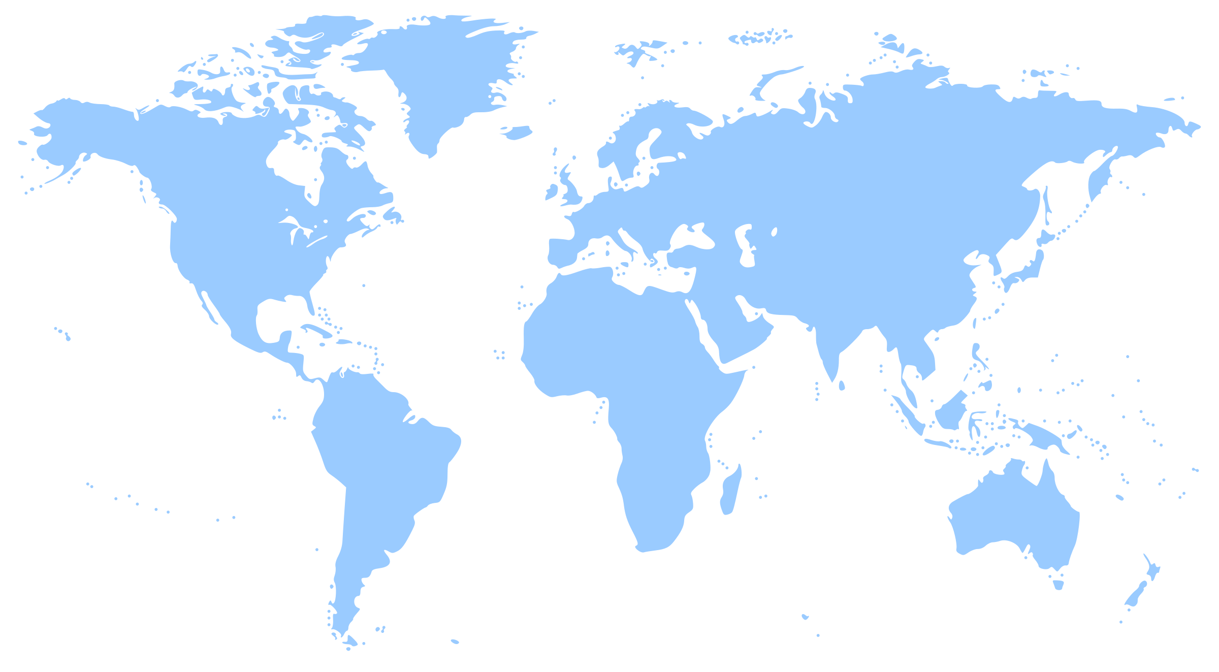 BIG IMAGE (PNG) - World Map Clipart