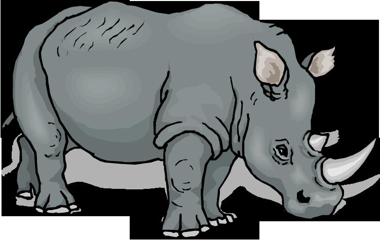 Big Rhino Clipart