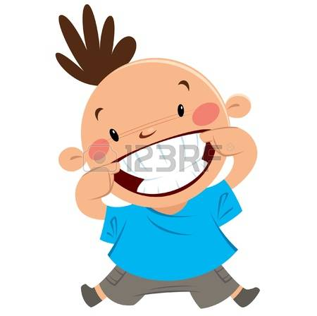 Big Smile Teeth: Happy Boy Smiling Point-big smile teeth: Happy boy smiling pointing his big smile and white clean teeth-9