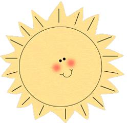 Clipart Sunshine