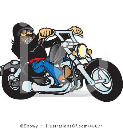 ... Biker Clip Art ...