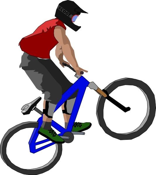 Biker clip art