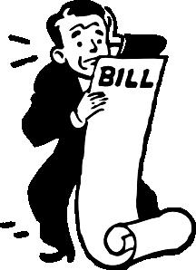 Bill to Law Clip Art