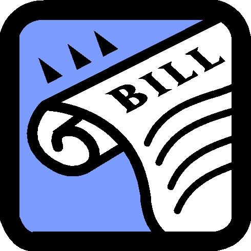 Bill to Law Clip Art - Bill Clip Art