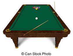 Billiard table Stock Illustrationby ...