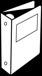 Binder Clipart - Binder Clip Art