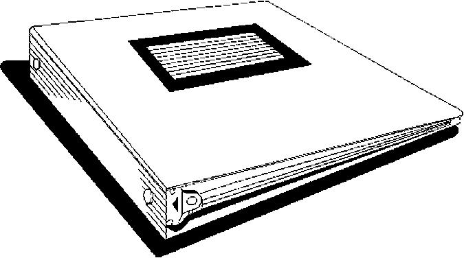 Binder Clipart