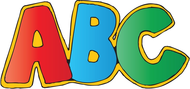 Abc alphabet clipart kid