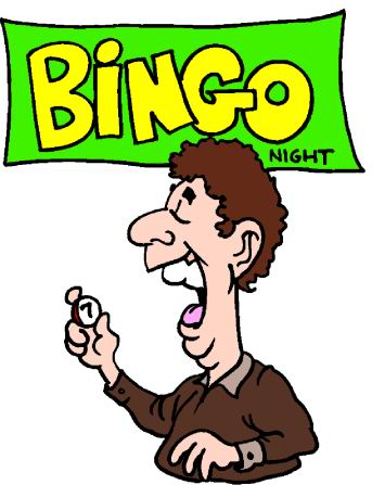 Bingo clip art clipart clipartcow