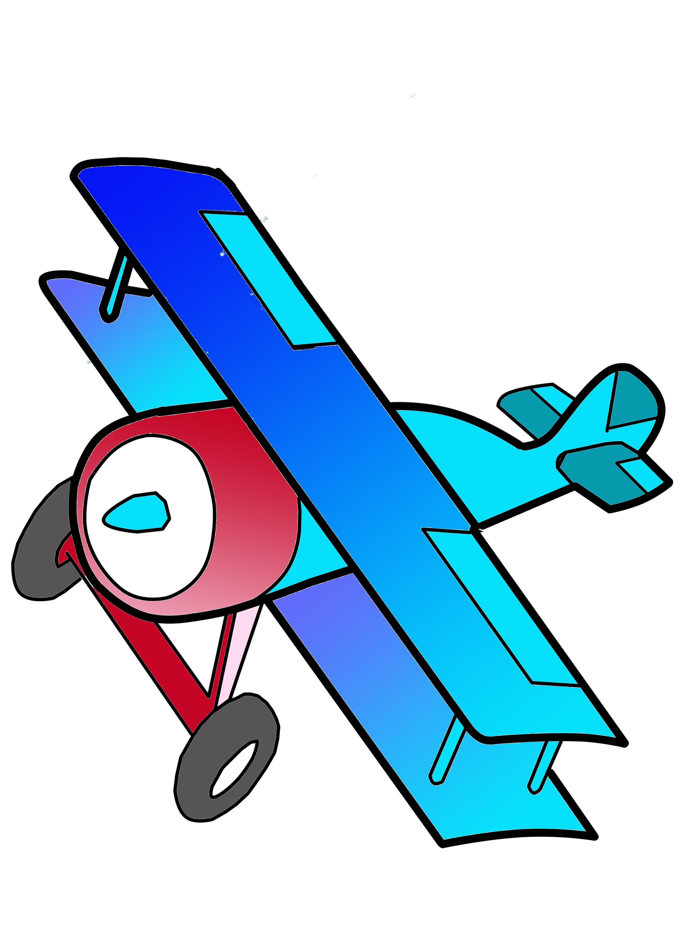 Biplane Free Images At Clker  - Biplane Clipart