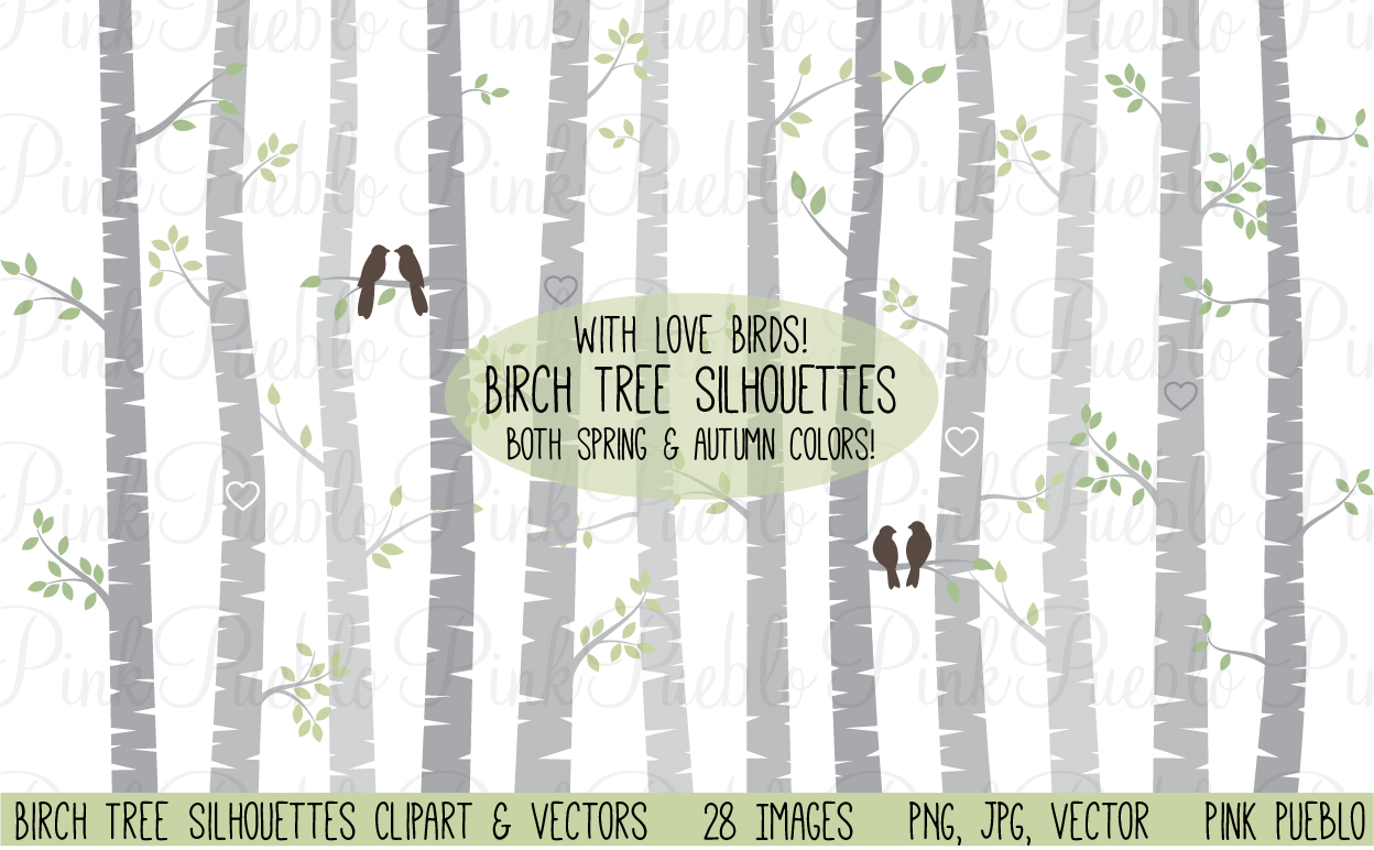 Birch Tree Clipart and Vectors .