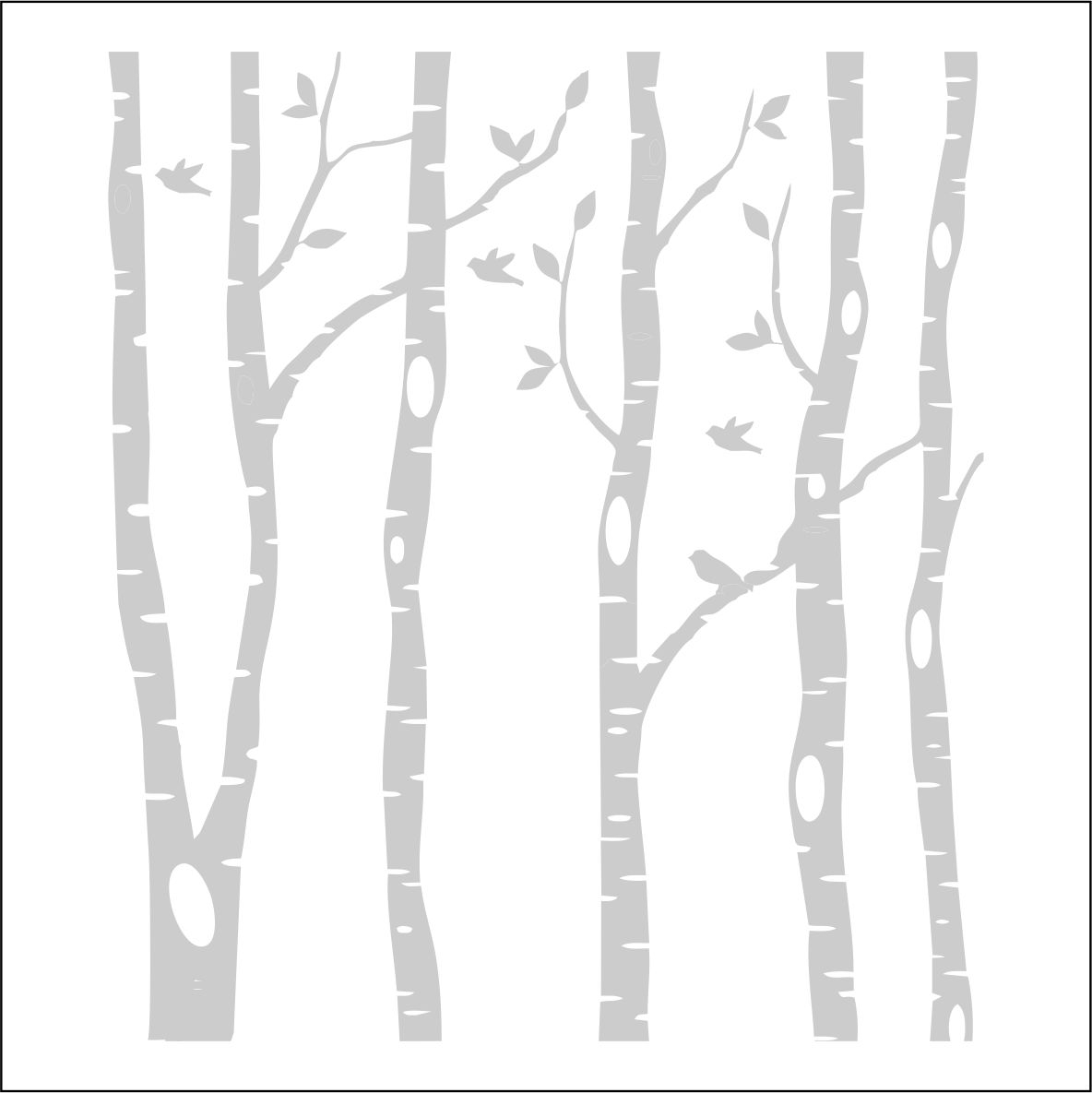 Birch Tree Tattoo