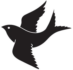 bird flying clipart-bird flying clipart-12