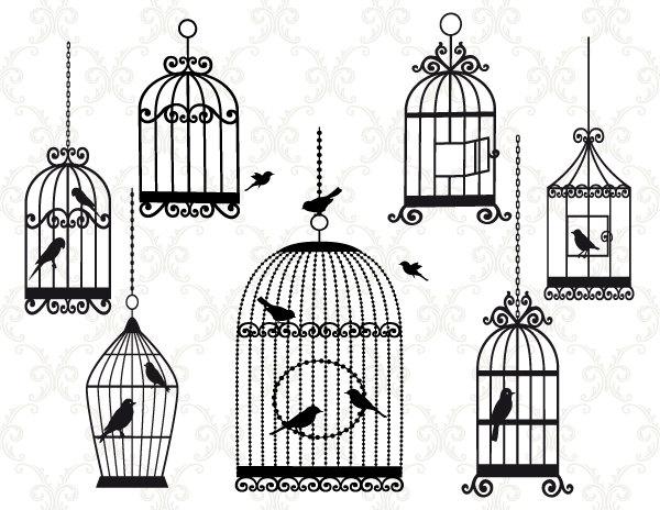 Bird Cage Clip Art ... Resolution 600x46-Bird Cage Clip Art ... Resolution 600x464 .-4