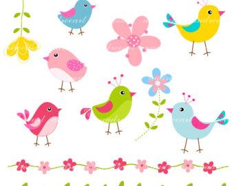 ... Birds And Flowers Clip Art ...-... birds and flowers clip art ...-15