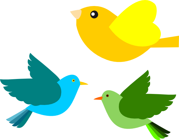 Birds Clip Art At Clker Com Vector Clip Art Online Royalty Free