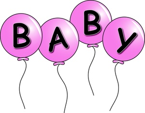 Birth Of Baby Girl Clip Art