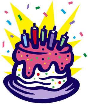 birthday cake clipart - Birthday Party Clipart
