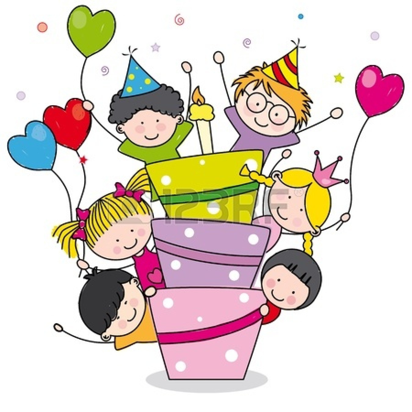 Birthday Cards Clip Art