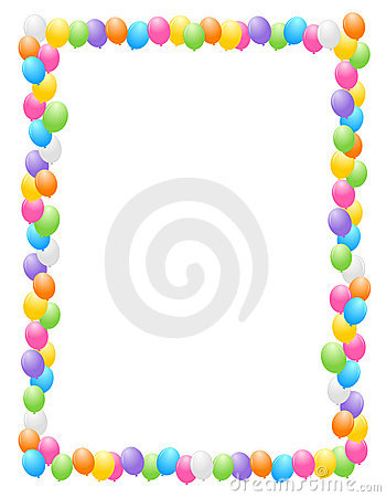 birthday clip art borders and frames