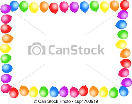 birthday clip art borders - Birthday Clip Art Borders