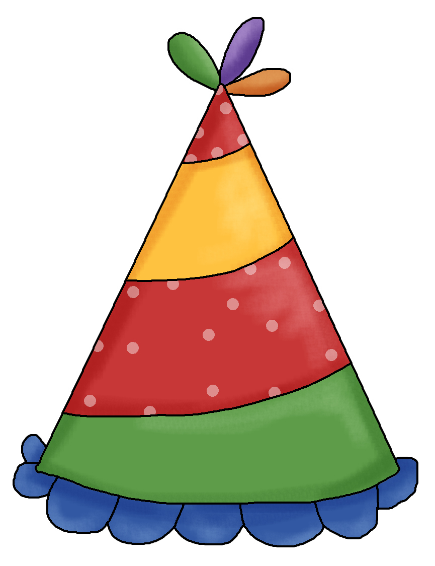 birthday hat clip art clear b - Clipart Birthday Hat