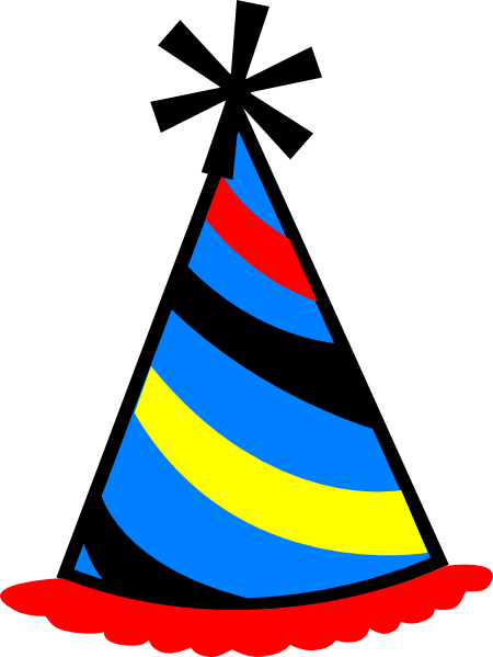 birthday hat clip art