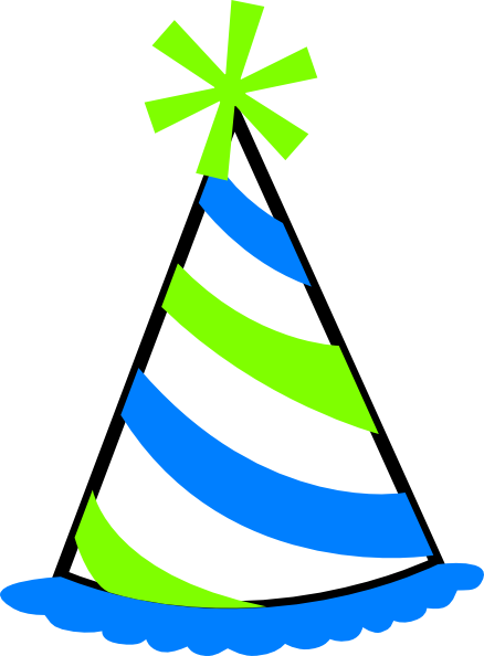 birthday hat transparent background