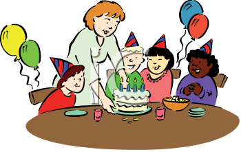 birthday party clip art - Birthday Party Clipart
