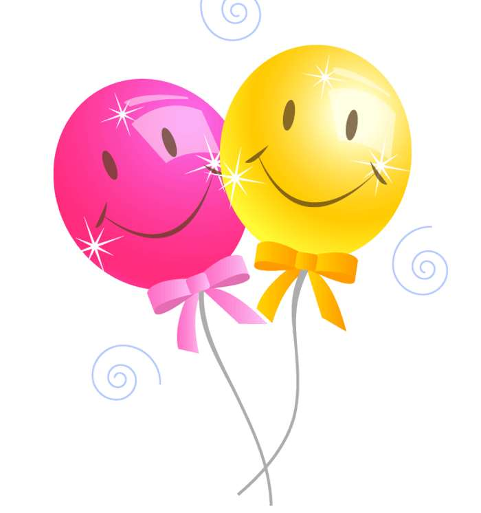Birthday balloons balloons fr - Happy Birthday Balloons Clip Art