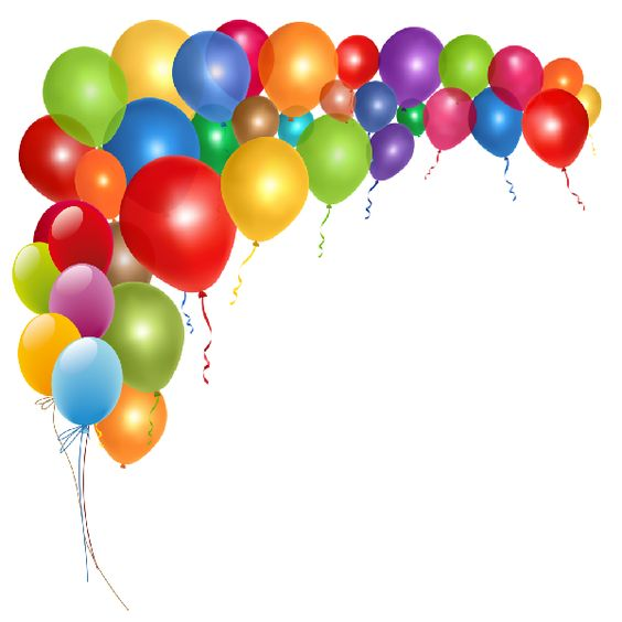 birthday balloons clip art -  - Birthday Balloons Clip Art