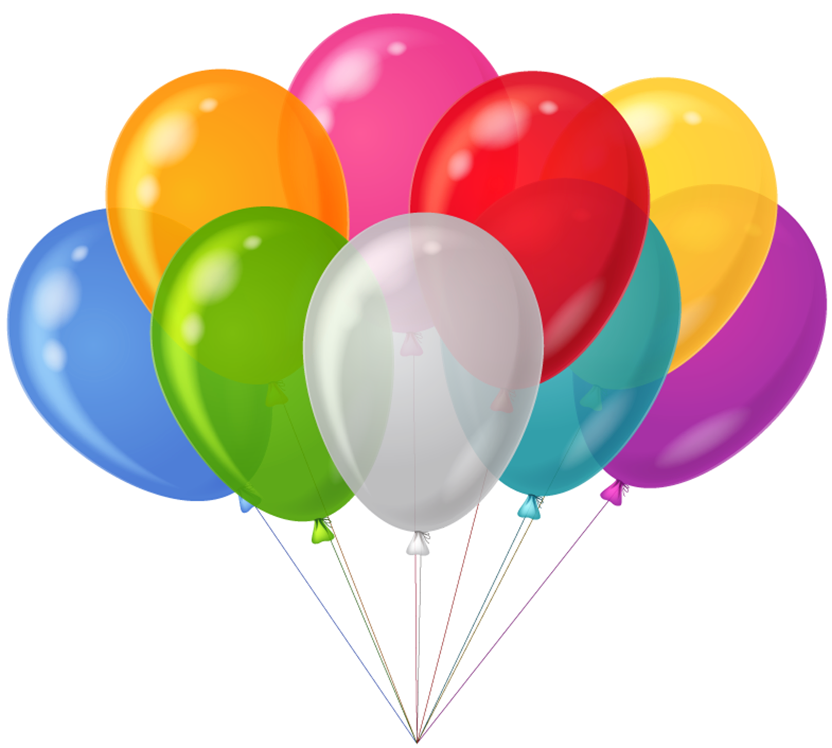 Birthday balloons free birthday balloon clip art free clipart images 3