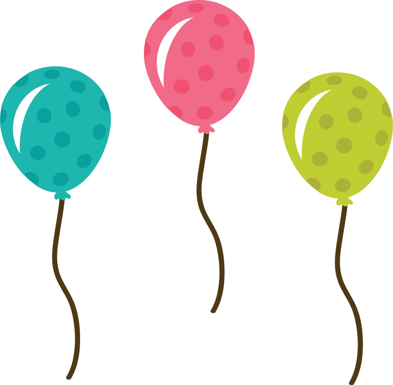 Birthday balloons free birthday balloon clip art free clipart images 6