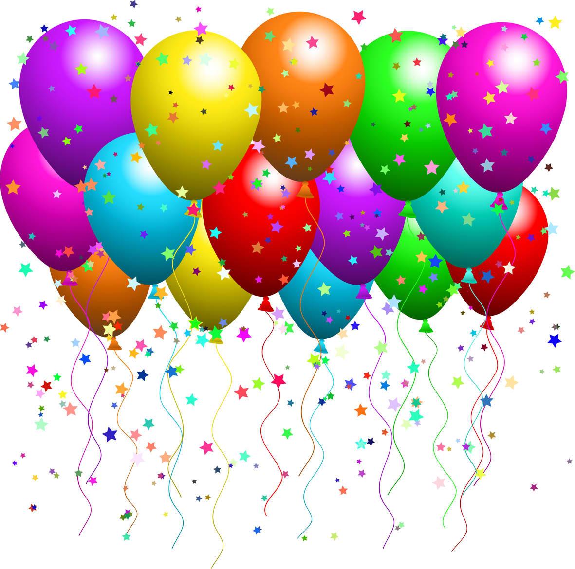 Birthday balloons free birthday clipart balloons muuf