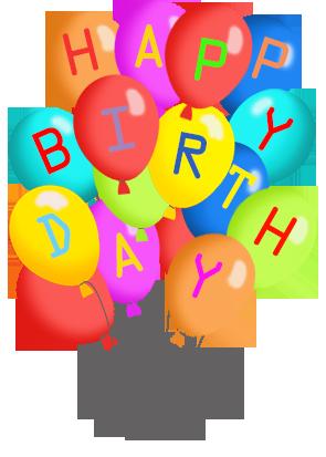 Birthday balloons free happy birthday balloon clipart clipartall 3
