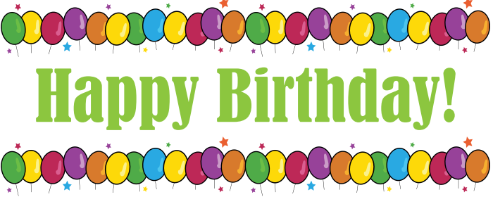 ... Birthday banner clipart 8 ...