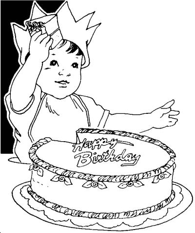 Birthday black and white free .
